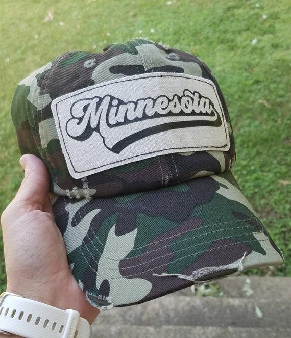 Minnesota Camo Baseball Hat | Minnesota Camouflage Hat |Trucker Hat | Trucker Hat | Gift | Cute Hat | Minnesota Baseball | Minnesota Hat
