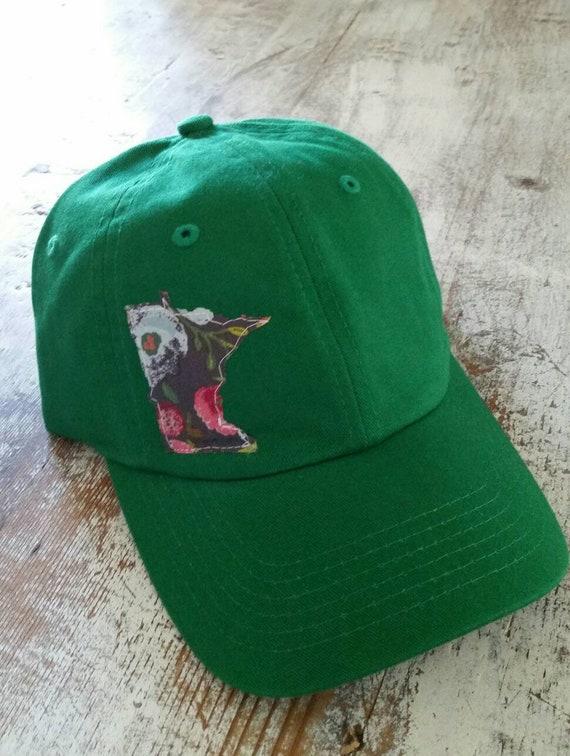 Kids Minnesota Hat| Kids Hat | Minnesota Floral Baseball Hat | Minnesota Cap | Baseball Hat | MN Hat | MN Baseball | Kids Baseball Hat |