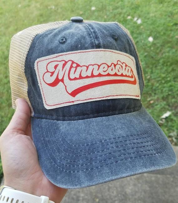 Minnesota Baseball Hat | Minnesota Trucker Hat |Trucker Hat | Hat | Trucker Hat | Gift | Cute Hat | Minnesota Baseball | Minnesota Hat
