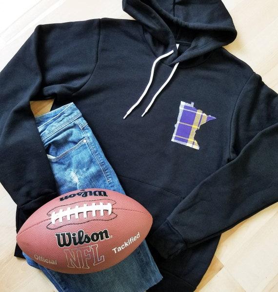 Minnesota Vikings Hoodie | Minnesota Sweatshirt | Vikings Sweatshirt | MN Sweatshirt  | Women's Minnesota Sweatshirt | Mens Sweatshirt |