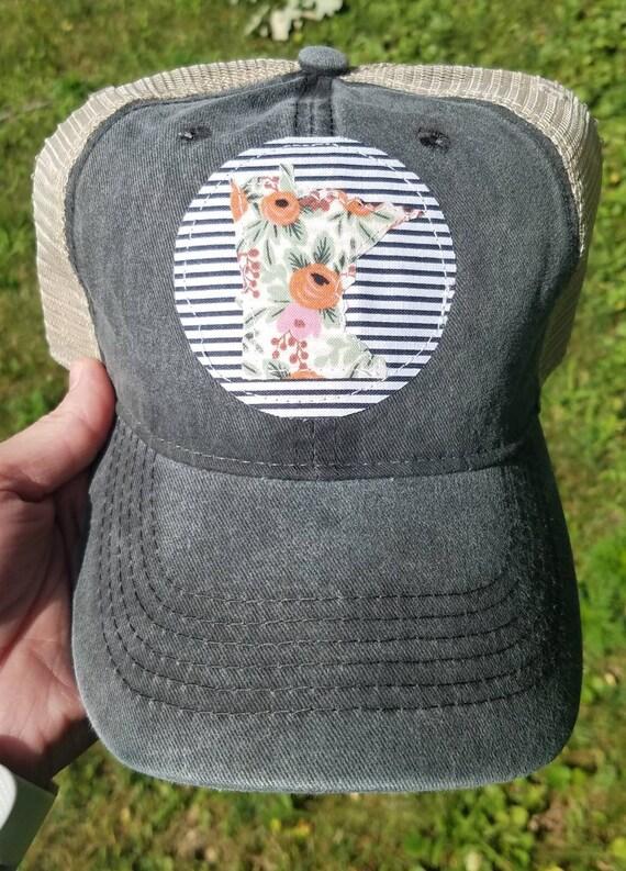 Minnesota Hat | Minnesota Trucker Hat | MN Hat | State Pride | Baseball Hat | Minnesota | Gift | MN Hat | Cute Hat