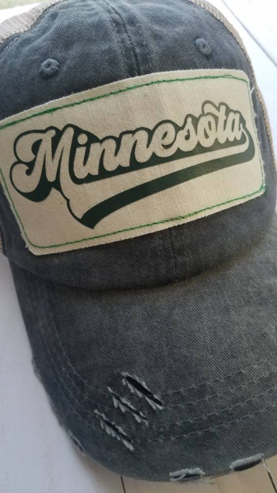 Minnesota Baseball Hat   Minnesota Trucker Hat  Trucker Hat   Hat   Trucker Hat   Gift   Cute Hat   Minnesota Baseball   Minnesota Hat