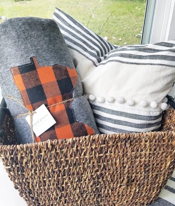 Minnesota Throw Blanket | Minnesota Blanket | Cabin Blanket | Lake Blanket | 66 X 90 Blanket | Minnesota Decor | Home Decor | Minnesota Home