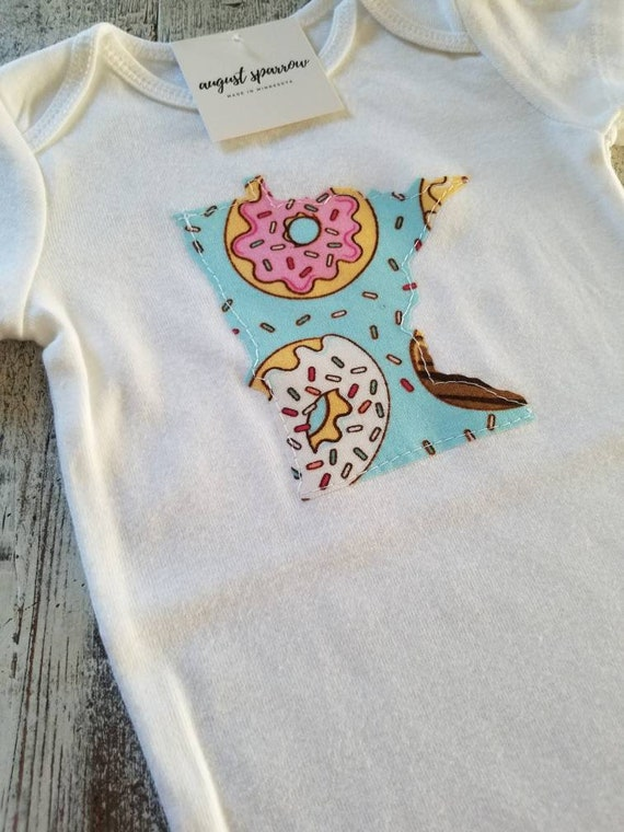 Minnesota Bodysuit | State Bodysuit | Minnesota Baby | Made in Minnesota | Baby Girl Bodysuit | Minnesota Love |