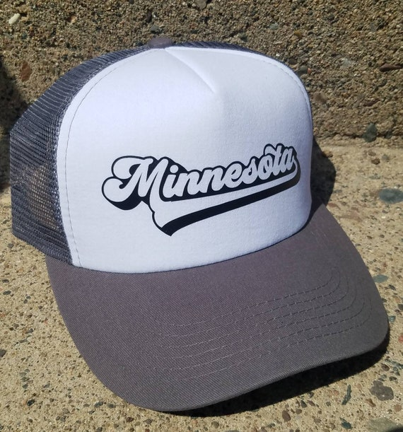 Minnesota Hat | Minnesota Trucker Hat |Trucker Hat | Hat | Distressed Trucker Hat | Gift | Cute Hat |