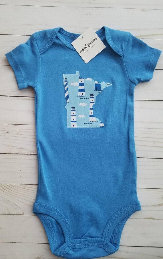 SALE | CLEARANCE | Minnesota Bodysuit | State Bodysuit | Minnesota Baby | Made in Minnesota | Bodysuit | Minnesota Love |