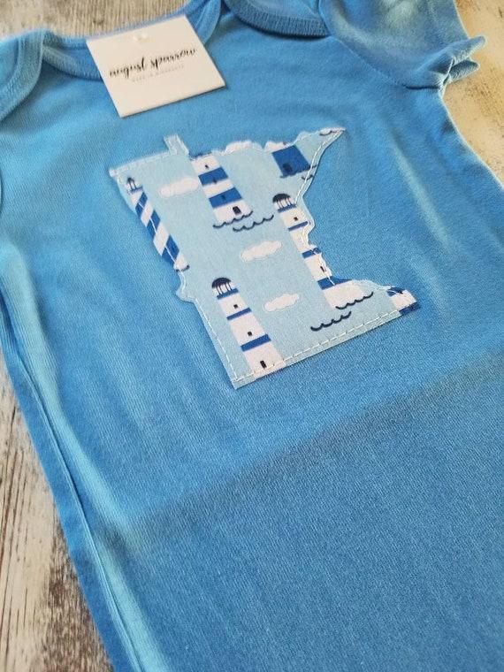Minnesota Bodysuit | State Bodysuit | Minnesota Baby | Made in Minnesota | Baby  Bodysuit | Minnesota Love |