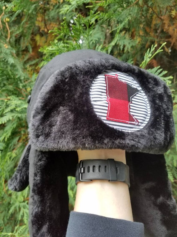 Minnesota Hat | Minnesota Winter Hat | Minnesota Earflap Hat | Winter Hat | Earflap Hat |