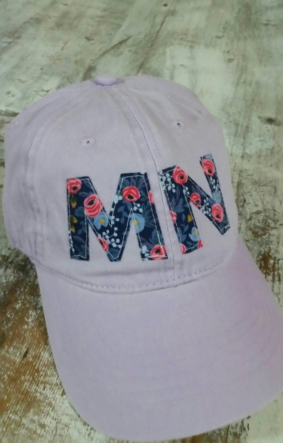 Minnesota Hat   Minnesota Floral Baseball Hat   Minnesota Cap   Baseball Hat   MN Hat   MN Baseball   Floral Hat   Rifle Paper Co.  