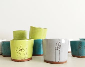 Earthenware Tiny Cups