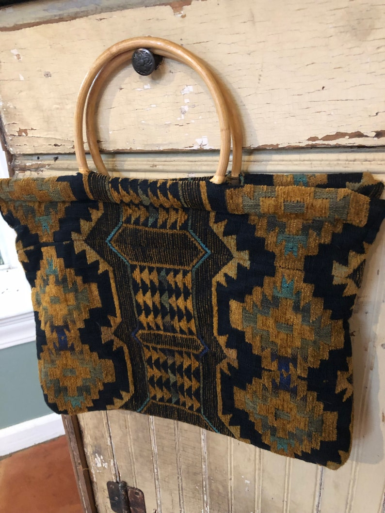 Boho southwest tapestry purse