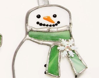 Jolly Green Snow woman