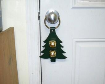 Warner decorative Christmas door bell hanger     Christmas tree-Christmas stocking- Christmas bell-Gingerbread man_-Train