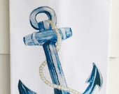 Anchor Cotton Huck Kitchen Towel