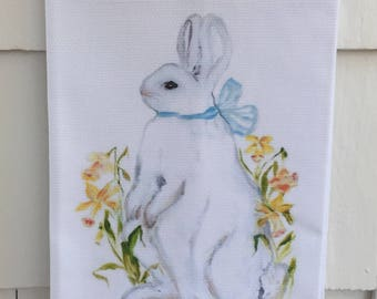Daffodil #5005 Cotton Huck Kitchen Towel