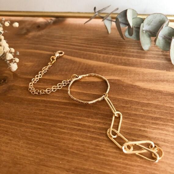 Melody - minimalist dainty chain bracelet, wedding, gift
