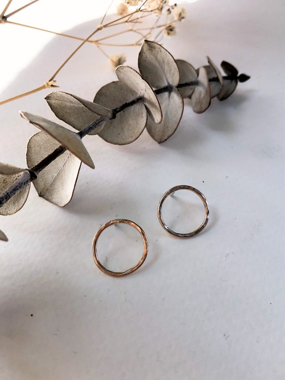 Mylène - gold filled or sterling silver post earrings