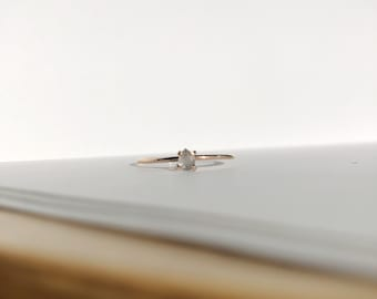 Andreanne stackable ring - goldfilled