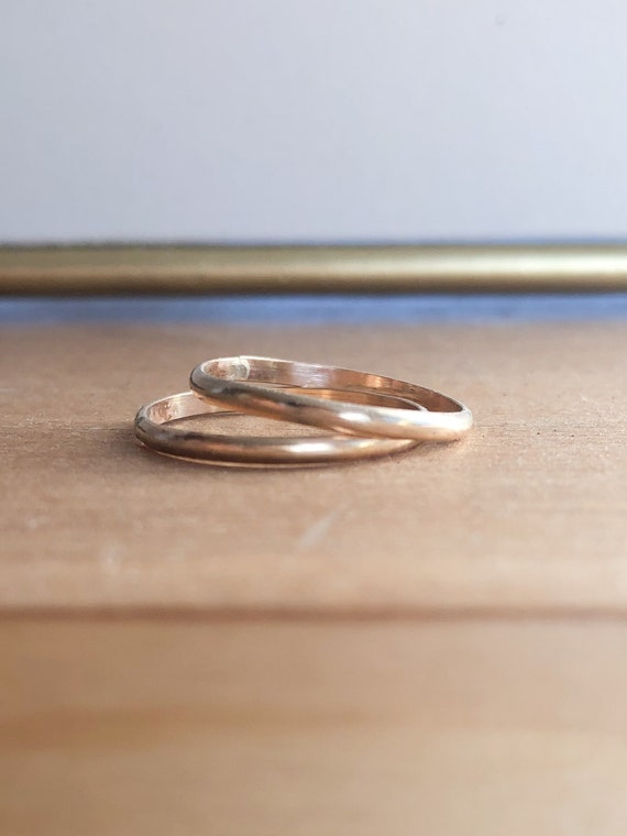 Sisi - Plain larger stackable ring