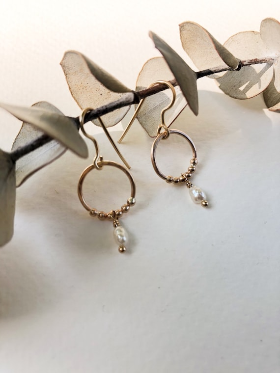 Salomé - gold filled or sterling silver earrings