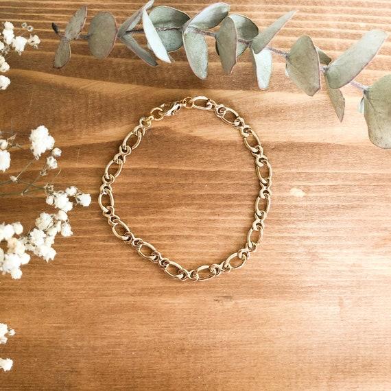 Linne - minimalist figaro chain bracelet, wedding, gift