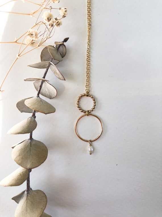 Narissa - gold filled or sterling silver delicate chain necklace