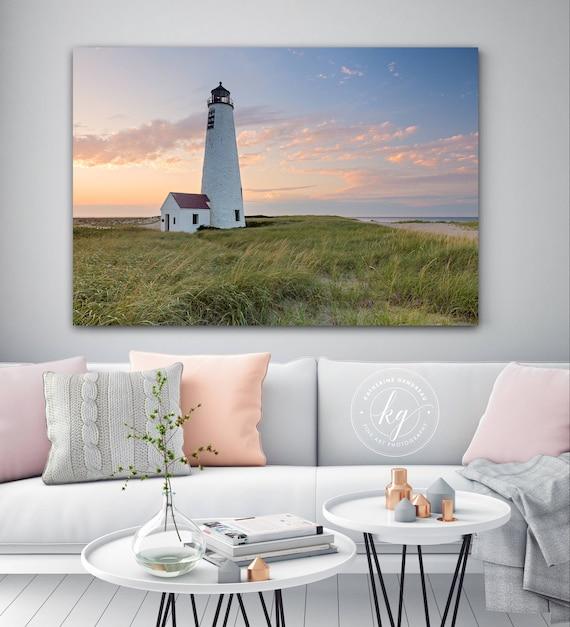 Metal Wall Art Nantucket Photography Great Point Lighthouse  4a6927e2ee2