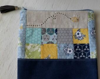 ZIPPERED POUCH - Medium project bag
