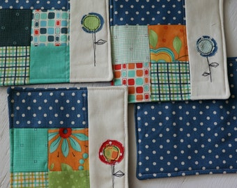 Quilted Coasters set of four