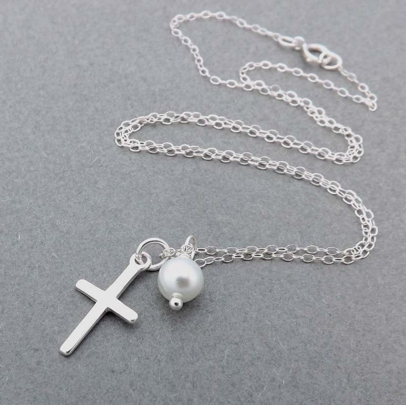mother wife and friend,Mother/'s Day gifts Sterling Silver Cross Gift for bridesmaids Cross Pendant Birthstone necklace