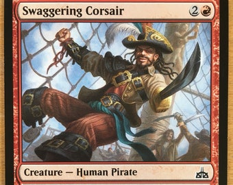 Swaggering Corsair, Limited edition MTG Artist proof, By Scott Murphy