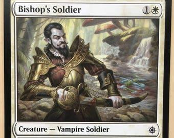 Bishop's Soldier, Limited edition MTG Artist proof, By Scott Murphy