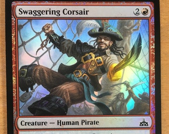 Swaggering Corsair, *FOIL* Limited edition MTG Artist proof, By Scott Murphy