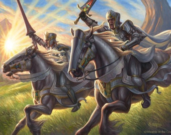 Call the Cavalry Print of Magic: The Gathering Illustration by Scott Murphy