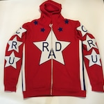 RAD Cru Jones Helltrack replica hoodie rad racing bmx 80's retro