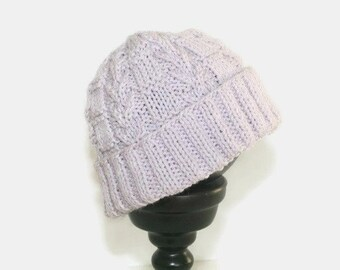 5d5c12eb715 Cable knit baby hat