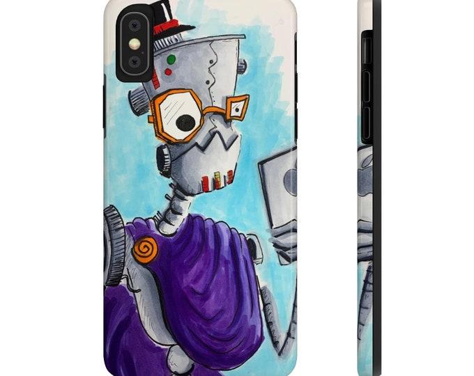 Debonaire Robot Selfie - Case Mate Tough Phone Cases