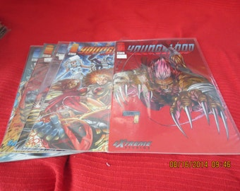 YOUNGBLOOD # 3, 4,5, 6, 7, 8,9, 10, 11 IMAGE COMICS In Plastic Never Opened Mint 1994 Box 6