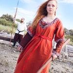 Custom Viking Overdress in Linen or Wool