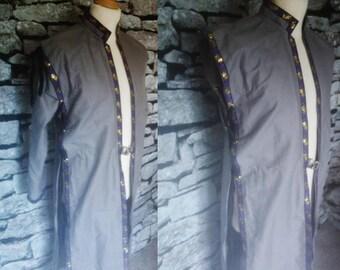 Custom Kingsman's Jacket in Linen with Trim