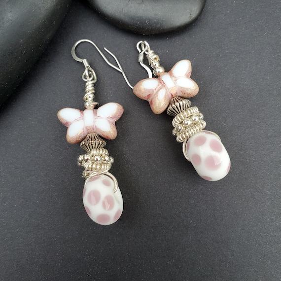 wire wrapped earrings / silver jewelry / wire wrapped jewelry handmade earrings #3