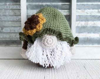 Flower Gnome - Sunflower Gnome - Garden Gnome - Flower - Sunflower - Gnome - Spring Gnome - Spring - Spring Decor - Gnome Decor - Garden