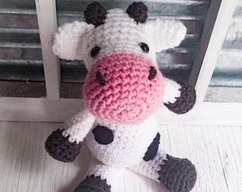 Calf - Baby Cow - Moo - Moo Cow - Dairy Cow - Milk - Farm - Farm Animal - Barnyard - Barn - Bovine - Stuffed Animal - Stuffed - Animal