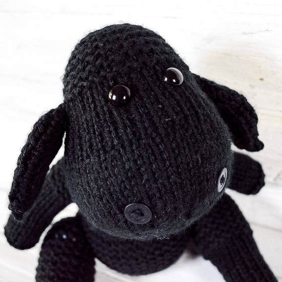 Sheep Black Sheep Baa Animal Stuffed Stuffed Animal Etsy