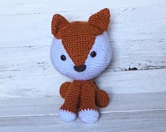 Fox - Stuffed Fox - Animal - Stuffed Animal - Woodland - Forest