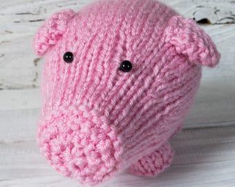 Pig - Piggy - Hog - Sow - Swine - Stuffed Pig - Stuffed Animal - Animal - Barnyard - Barnyard Animal - Farm - Farm Animal