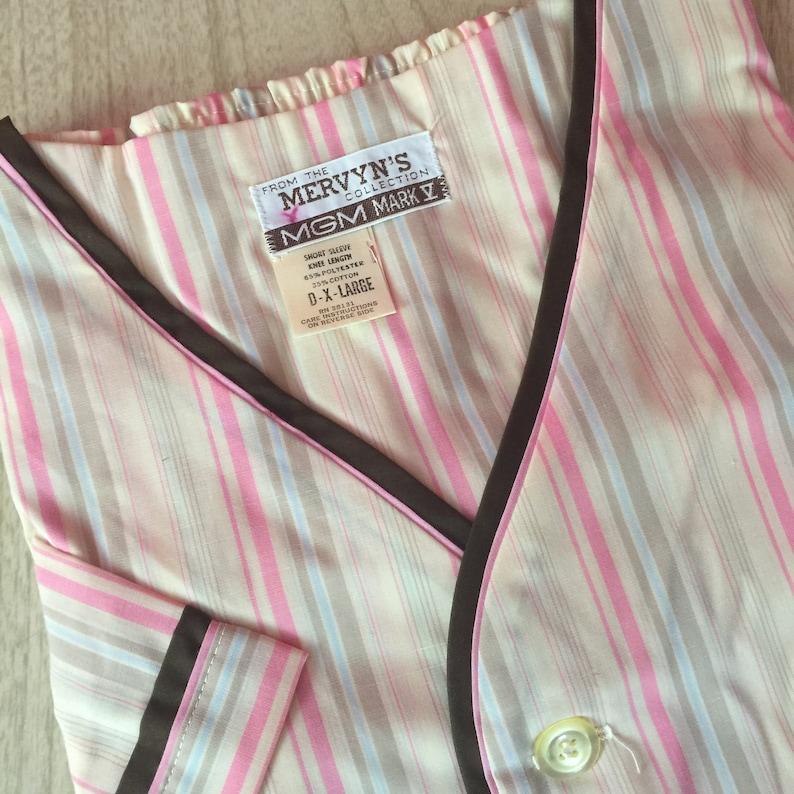NOS Vintage Men/'s Pajama Set Short Sleeve /& Knee Length XL #2
