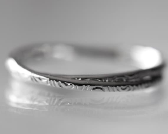 Textured Interlocking Rings, Thumb Ring, Thumb Ring, Textured Rings, Rolling Ring, Stacking Ring, Minimalist Ring, Unique Ring, Interlocking