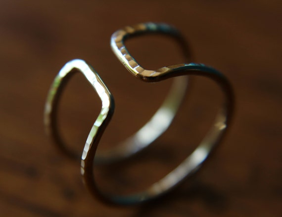 Open Bar Ring,Parallel Bar Ring,Double Bar Ring,Gold Bar Ring,Modern Ring,Open Ring,Modern Minimalist Ring,Line Ring,Double Bar,Double Ring
