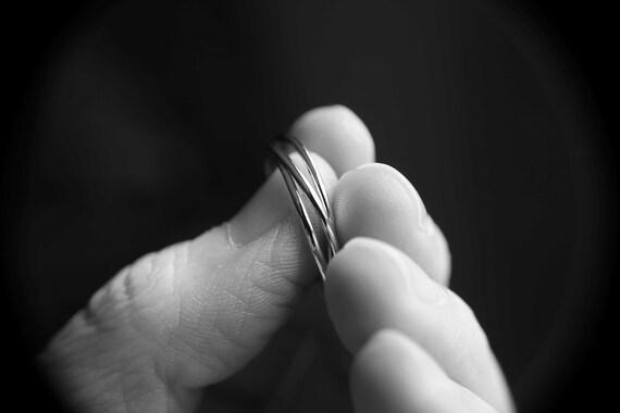 Trinity Rings, Fidget Rings, Interlocking Rings, Interlocked Rings, Russian Wedding Rings, Rolling Rings, Smooth Trinity Rings, Triple Band